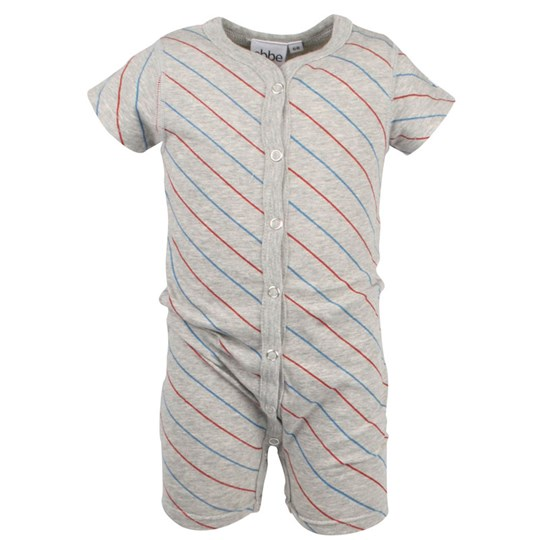 ebbe Kids Bart Beachsuit Blue/Red Stripe Black