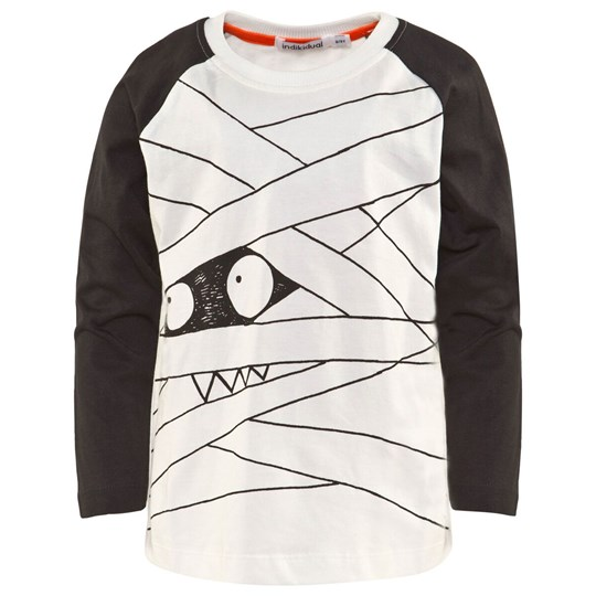 Indikidual Black And White Eye Print Tee Black and White
