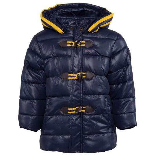 Mayoral Navy Hooded Duffle Puffa with Detachable Hood 41