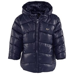 Mayoral Navy Hooded Puffer Coat
