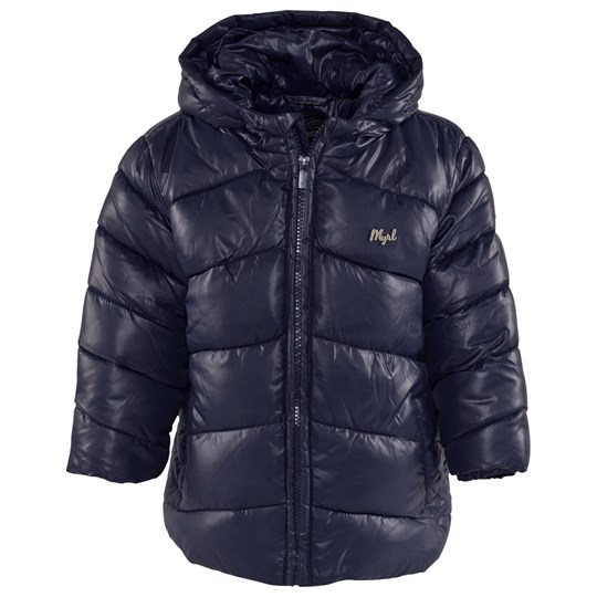 Mayoral Navy Hooded Puffer Coat 52