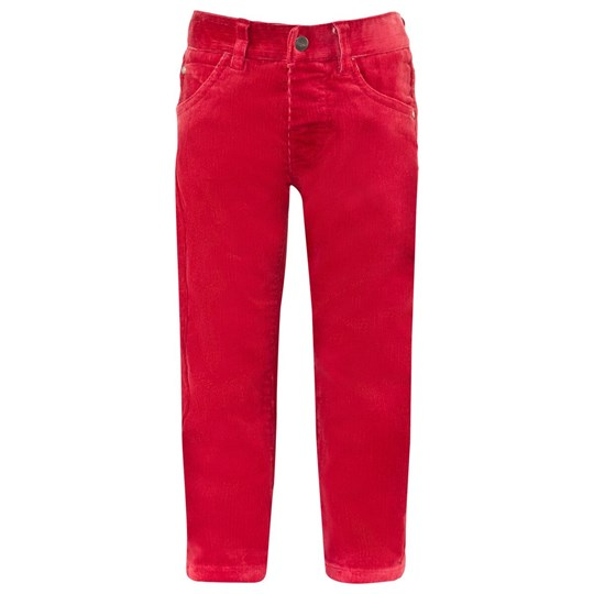 Mayoral Cherry Red Needlecord Trousers 46 - Ketchup
