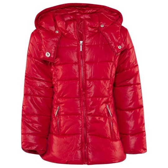 Mayoral Red Quilted Puffer Coat 11