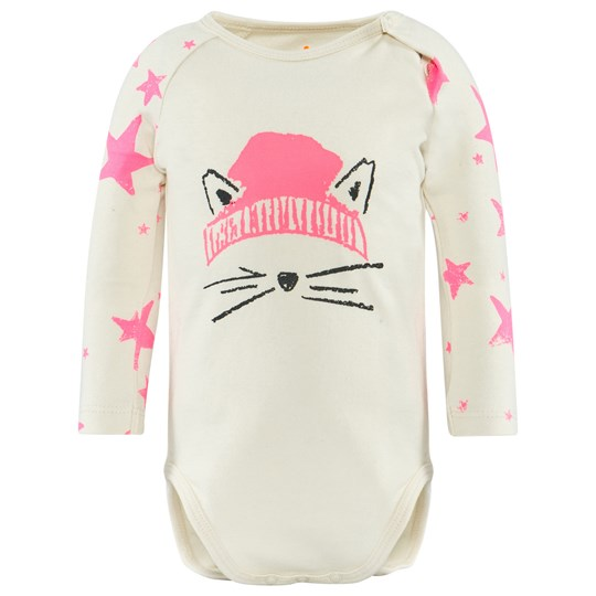 Noe & Zoe Berlin Pink Cat Face Body NEON PINK STAR