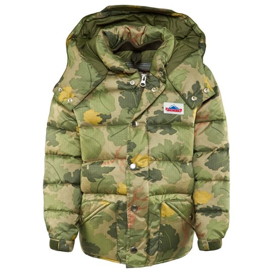 Penfield Vintage Camo Bowerbridge Hooded Jacket 007 OLIVE
