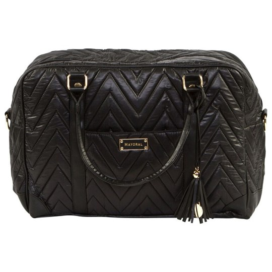 Mayoral Black Quilted Changing Bag 44