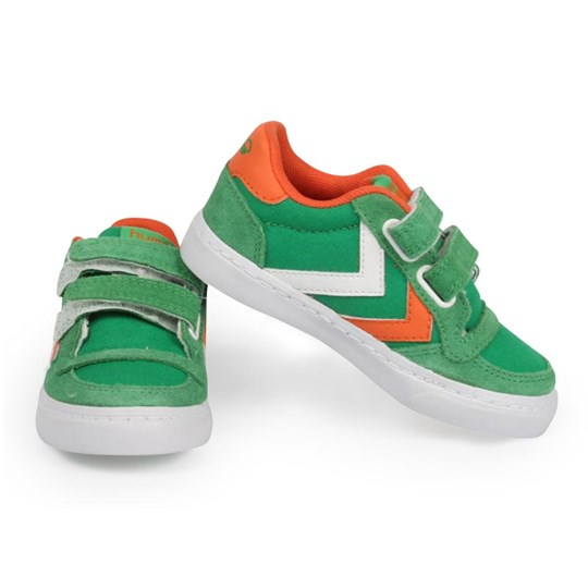Hummel Stadil Low Jr Green Green