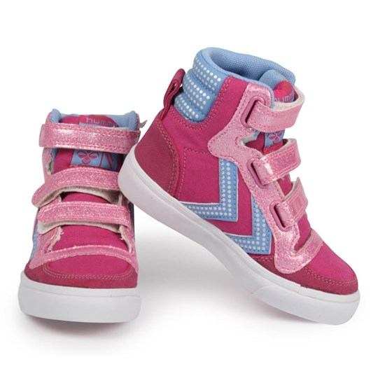 Hummel Stadil High Jr Disco Pink Pink
