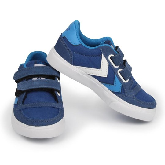 Hummel Stadil Low Jr Blue Blue