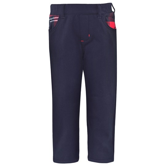 Junior Gaultier Navy Jersey Trouser  4