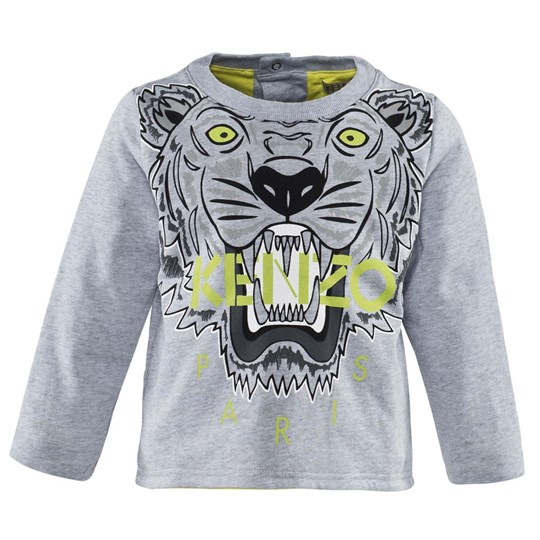 Kenzo Grey Double Faced Jersey Sweatshirt 24