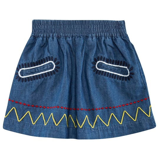 Stella McCartney Kids Nat Skirt Denim Chambray Denim Chambray