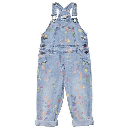 Stella McCartney Kids Rudy Overall Denim Splat Denim Splat Pr
