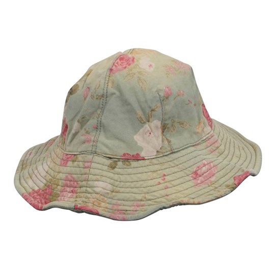 Scotch R'belle Sun Hat Flowers Green