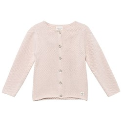Carrément Beau Knitted Cardigan Pale Pink