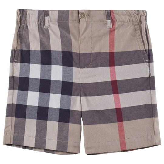 Burberry Check Cotton Shorts New Classic