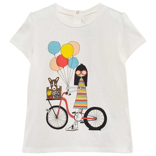 Little Marc Jacobs T-Shirt Offwhite 白色