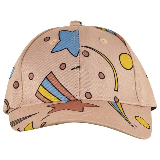 Mini Rodini Space Aop Cap Pink Pink