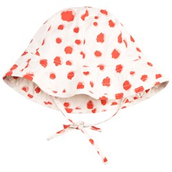 Mini Rodini Taches Sun Hat Red