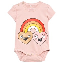 Mini Rodini Rainbow Body Pink