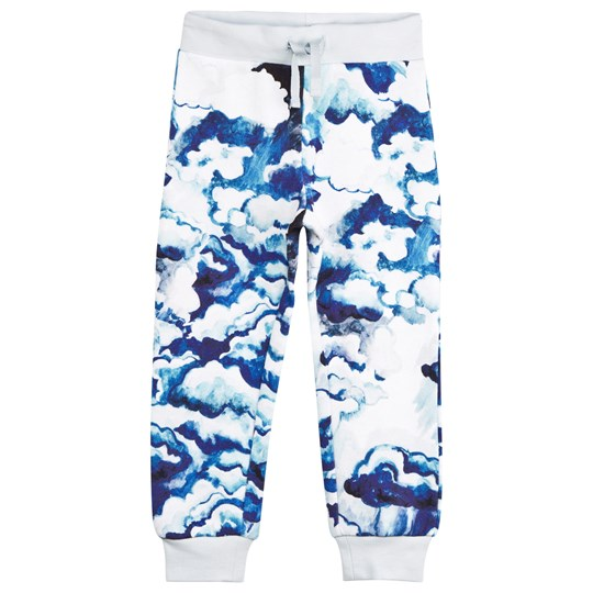 Mini Rodini Clouds Print Sweatpants Dark Blue Dk Blue