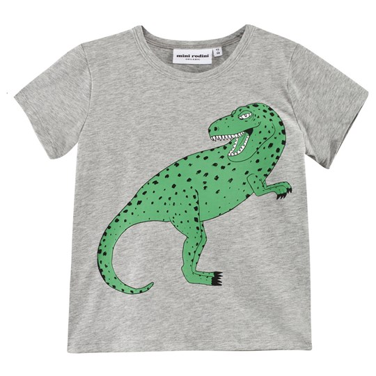 Mini Rodini T-Rex T-Shirt in Green Green
