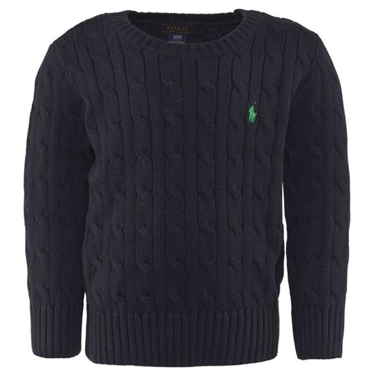 Ralph Lauren Lsl Cable Cn Hunter Navy Hunter Navy