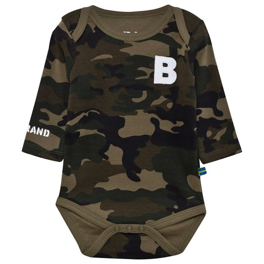 The BRAND Boy Onesie Camo Camo