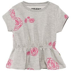 The BRAND Terry Top Grey Roses