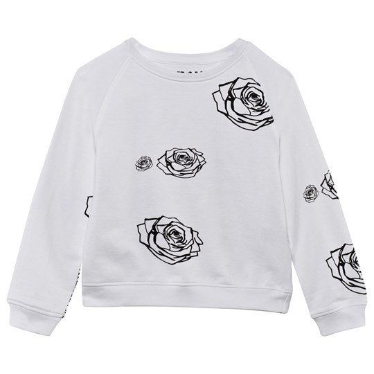 The BRAND Кофта Kit Sweater White Roses White Roses