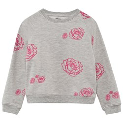 The BRAND Kit Sweater Grey Roses