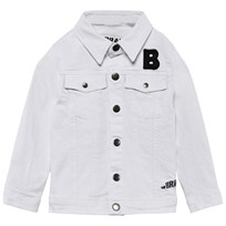 The BRAND Denim Jacket Washed White Washed White