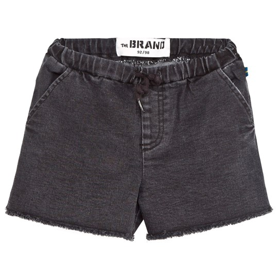 The BRAND Sweat Shorts Heavy Washed Black Heavy Washed Black