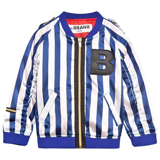 The BRAND Summer Bomb Blue/White Stripe Blue/white stripe