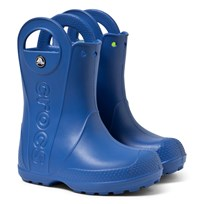 Crocs Handle It Rain Boot Kids Sea Blue Sand