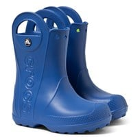 Crocs Handle It Rain Boot Kids Sea Blue Blue
