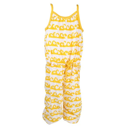 Ej sikke lej Playsuit Waves Yellow Yellow