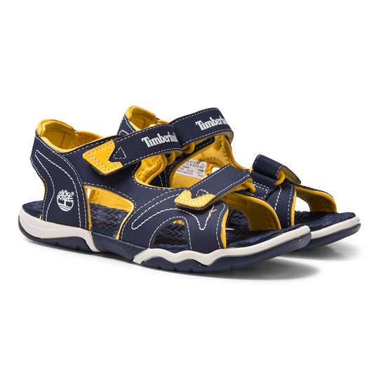 Timberland Adventure Seeker 2-Strap Sandal Navy/Yellow Blue