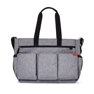 Image of Skip Hop Duo Double Signature Diaper Bag Heather (3125333097)