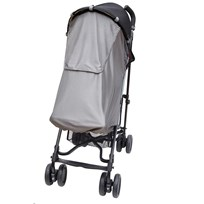 Skip Hop Stroll & Go Stroller Sun and Sleep Shade Серебряный