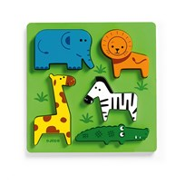 Djeco Incrocodible Puzzle Multi