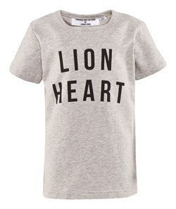 Gardner and the gang The Lion Heart Tee Cream White