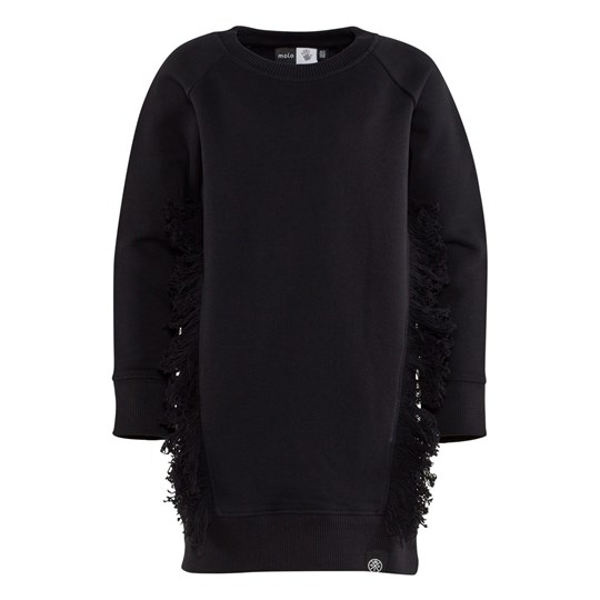 Molo Caysa Sweater Dress Black Black