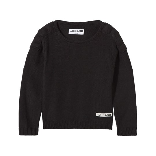 The BRAND Uni MC Knit Sweater Black Black