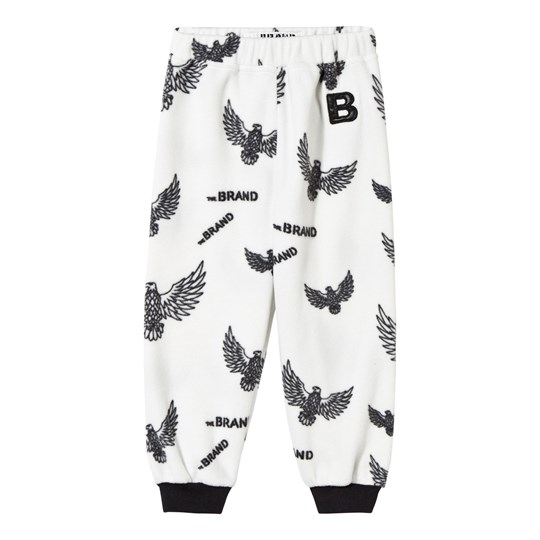 The BRAND Fleece Pants Off White Eagles Off white