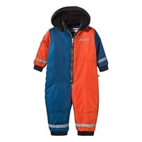 The BRAND Winter Overall Block Red/Black/Blue Block