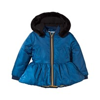 The BRAND Peeplum Winter Jacket Blue Blue