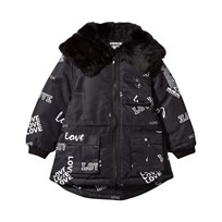 The BRAND Parka Faux Fur Black Love Black Love