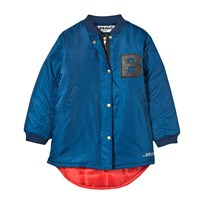 The BRAND Bomb Parka Blue Blue