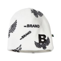 The BRAND Fleece Hat Off White Eagles Off white